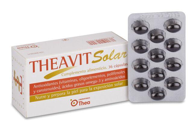 Topicrem Theavit AH Solar, 36 Uds