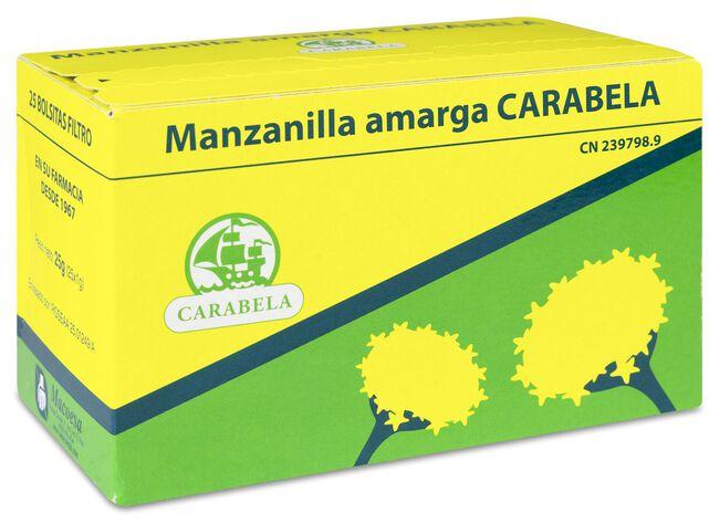 Carabela Manzanilla Amarga, 25 Uds